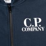 C.P. Company U16 Emerized Goggle Children's Hoody Blue photo- 2