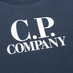 Детская толстовка C.P. Company U16 Printed Cotton Blue фото- 2