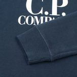 Детская толстовка C.P. Company U16 Printed Cotton Blue фото- 4