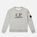 Детская толстовка C.P. Company U16 Printed Cotton Grey фото- 0