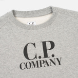 Детская толстовка C.P. Company U16 Printed Cotton Grey фото- 1