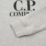 Детская толстовка C.P. Company U16 Printed Cotton Grey фото- 3