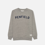 Penfield Brookport Children's Sweatshirt Grey Melange photo- 0