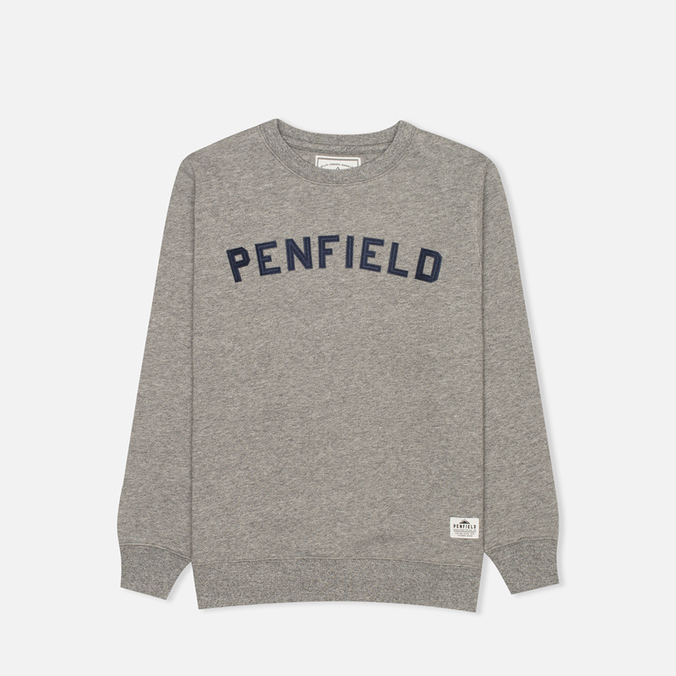 Penfield Brookport Children's Sweatshirt Grey Melange