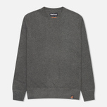 Мужская толстовка Barbour Hanssen Crew Neck Storm Grey фото- 0