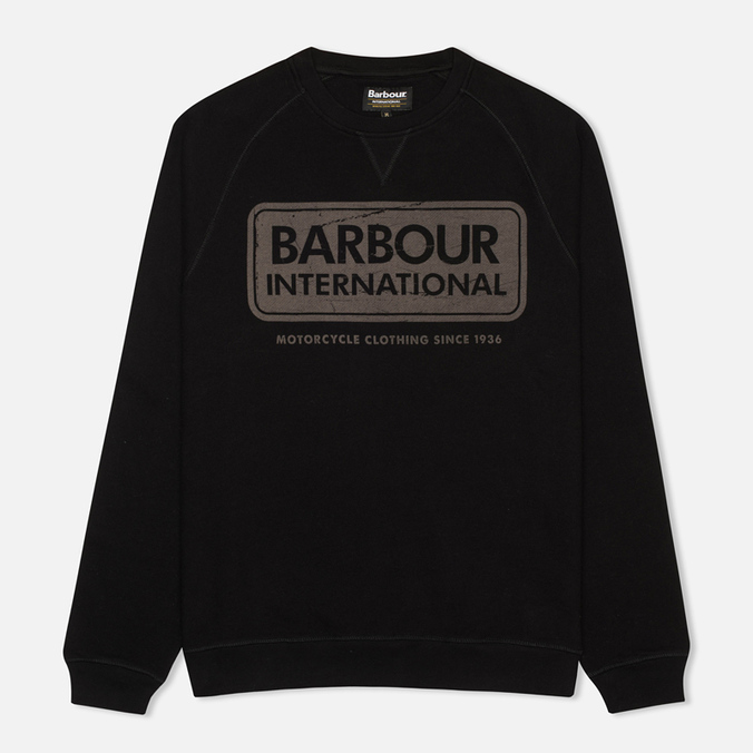Мужская толстовка Barbour International Logo Black
