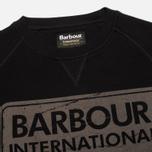 Мужская толстовка Barbour International Logo Black фото- 1