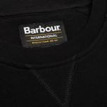 Мужская толстовка Barbour International Logo Black фото- 3