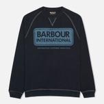 Мужская толстовка Barbour International Logo Navy фото- 0