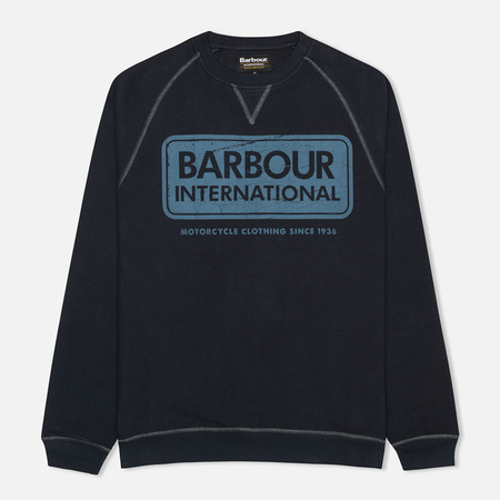 Barbour International Logo Men`s Sweatshirt Navy