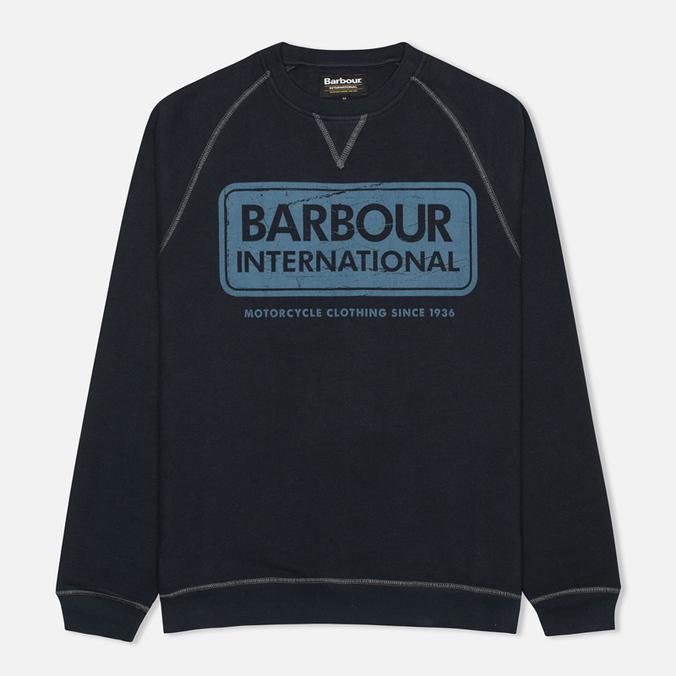 Мужская толстовка Barbour International Logo Navy