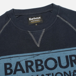 Мужская толстовка Barbour International Logo Navy фото- 1