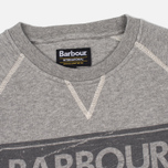 Мужская толстовка Barbour International Logo Reglan Grey Marl фото- 2