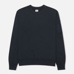 Мужская толстовка C.P. Company Round Neck Fleece Lens Pocket Navy фото- 0