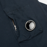 Мужская толстовка C.P. Company Round Neck Fleece Lens Pocket Navy фото- 2