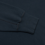 Мужская толстовка C.P. Company Round Neck Fleece Lens Pocket Navy фото- 3