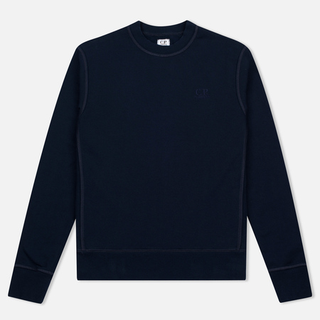 C.P. Company Fleece Crewneck Navy