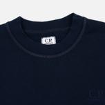 Мужская толстовка C.P. Company Classic Stitch Logo Crew Navy фото- 1