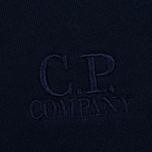 Мужская толстовка C.P. Company Classic Stitch Logo Crew Navy фото- 3