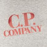 Мужская толстовка C.P. Company Logo Grey Melange фото- 2