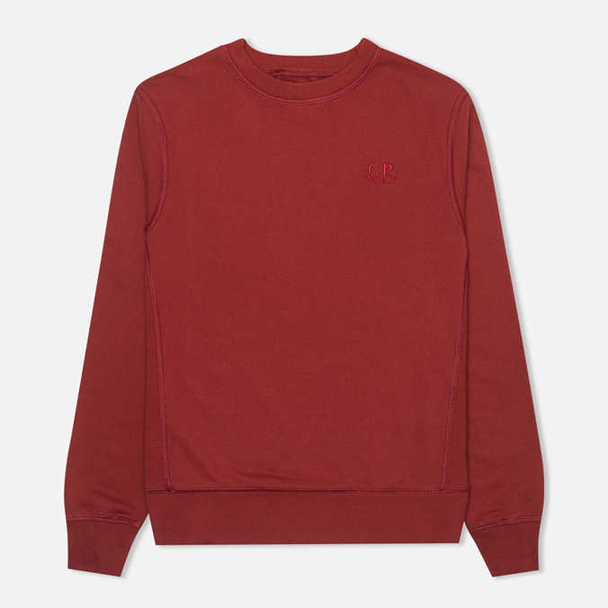 С.P. Company Round Men's Sweatshirt Red