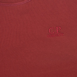 С.P. Company Round Men's Sweatshirt Red photo- 2