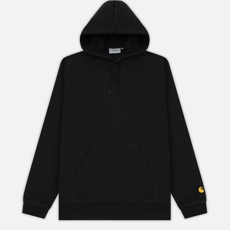 Мужская толстовка Carhartt WIP Hooded Chase 13 Oz Black/Gold