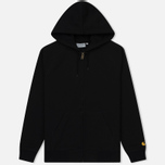 Мужская толстовка Carhartt WIP Hooded Chase Black/Gold фото- 0