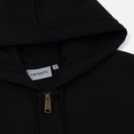 Мужская толстовка Carhartt WIP Hooded Chase Black/Gold фото- 1