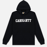 Мужская толстовка Carhartt WIP Kangaroo College Black/White фото- 0