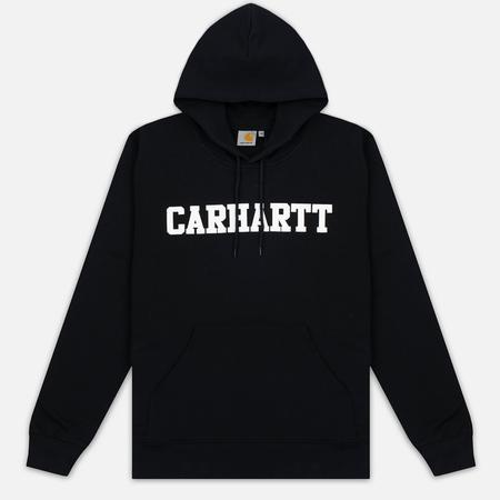 Мужская толстовка Carhartt WIP Kangaroo College Black/White