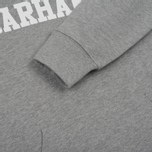 Мужская толстовка Carhartt WIP Kangaroo College Grey Heather/White фото- 4