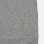 Мужская толстовка Carhartt WIP Kangaroo College Grey Heather/White фото- 3
