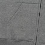 Мужская толстовка Carhartt WIP Hooded Chase Grey Heather/Gold фото- 3