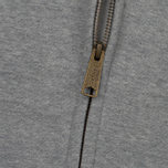 Мужская толстовка Carhartt WIP Hooded Chase Grey Heather/Gold фото- 2