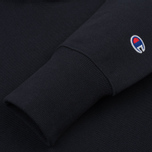 Мужская толстовка Champion Reverse Weave Basic Patch Logo Navy фото- 3