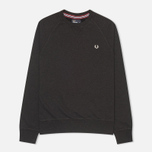 Мужская толстовка Fred Perry Loopback Crew Black Marl фото- 0