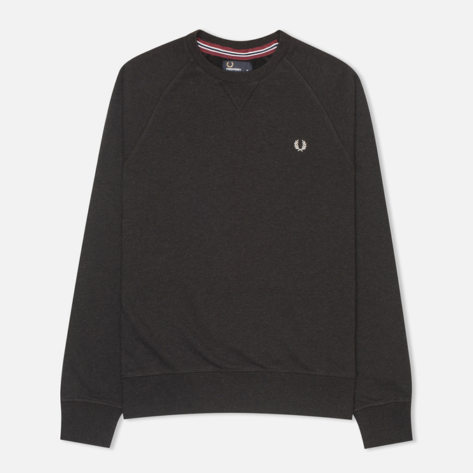 Мужская толстовка Fred Perry Loopback Crew Black Marl