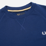 Мужская толстовка Fred Perry Loopback Crew Graphic Blue фото- 1