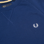 Мужская толстовка Fred Perry Loopback Crew Graphic Blue фото- 2