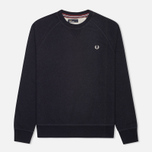 Мужская толстовка Fred Perry Loopback Crew Neck Navy фото- 0