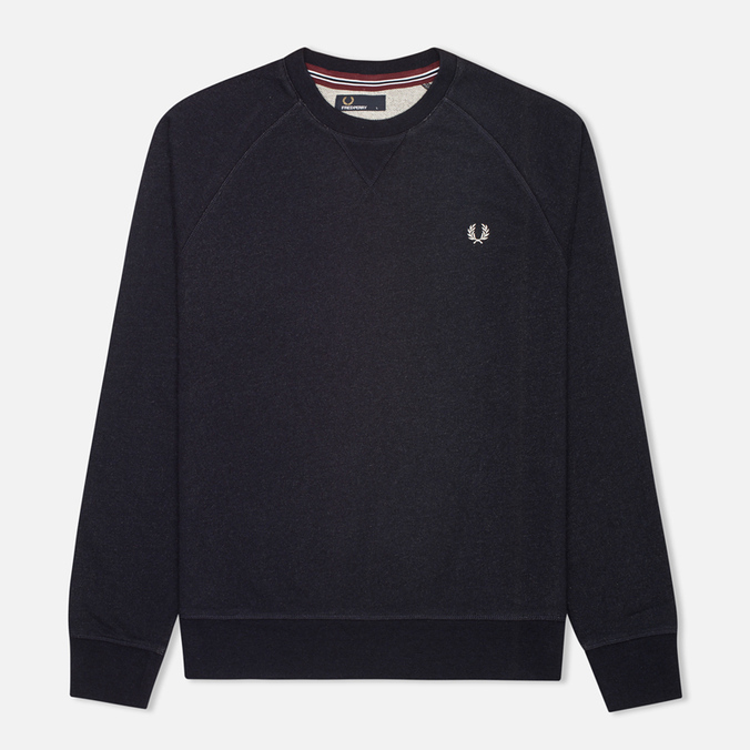 Мужская толстовка Fred Perry Loopback Crew Neck Navy