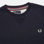Мужская толстовка Fred Perry Loopback Crew Neck Navy фото- 1