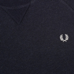 Мужская толстовка Fred Perry Loopback Crew Neck Navy фото- 2