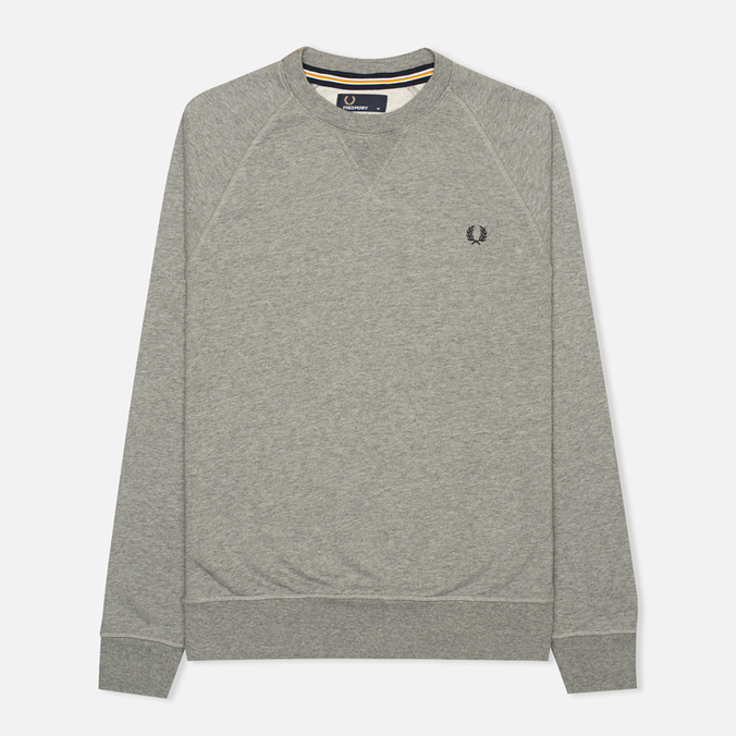 Мужская толстовка Fred Perry Loopback Crew Steel Marl