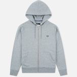 Мужская толстовка Fred Perry Loopback Hooded Steel Marl фото- 0