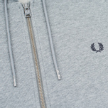 Мужская толстовка Fred Perry Loopback Hooded Steel Marl фото- 2