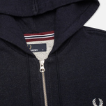Мужская толстовка Fred Perry Loopback Zip Neck Navy фото- 1
