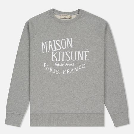 Мужская толстовка Maison Kitsune Palais Royal Grey Melange