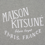 Мужская толстовка Maison Kitsune Palais Royal Grey Melange фото- 2